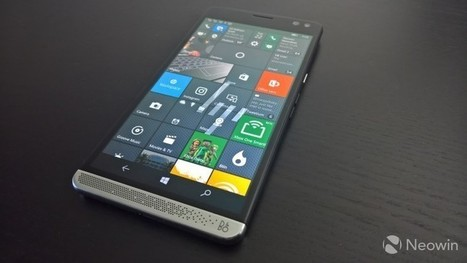 HP's next Windows 10 Mobile phone will reportedly be a mid-range handset | Windows Phone - CompuSpace | Scoop.it