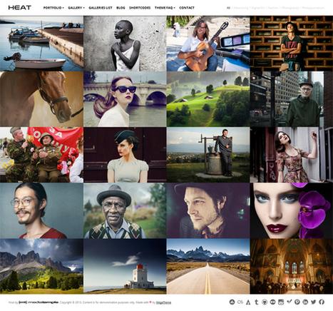 Heat, WordPress Showcase Photography Theme | WP Download | mfgaspar | Scoop.it