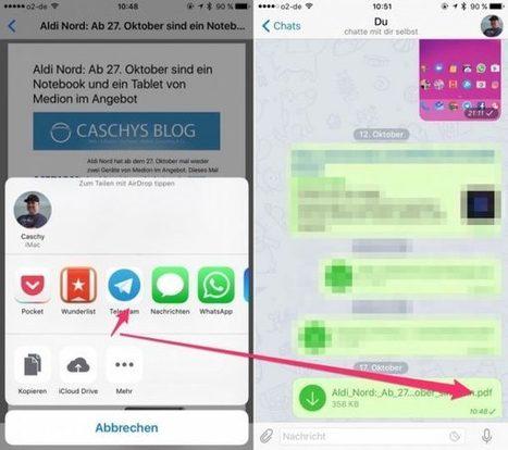 Android und iOS: Webseite als PDF speichern   Lernen mit iPad   Scoop.it