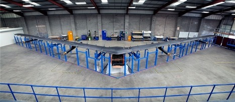Facebook's giant internet drone is ready for testing | MarketingHits | Scoop.it