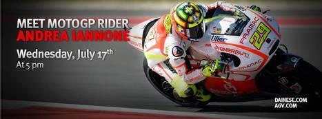 MEET ANDREA IANNONE ON WEDNESDAY, JULY 17TH | Ductalk Ducati News | Scoop.it