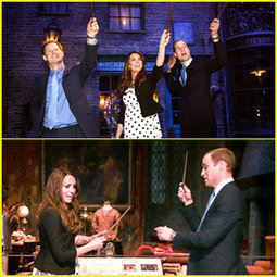 Kate Middleton & Prince William: Harry Potter Wand Battle! - Just Jared | Harry Potter | Scoop.it