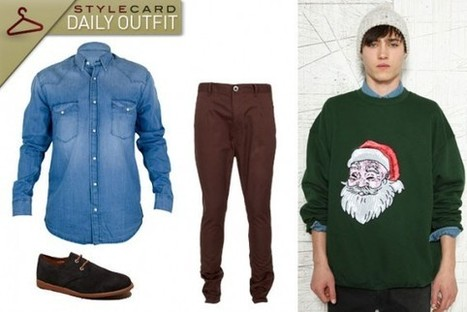 Men's Monday: Daily Outfit – Christmas Day | StyleCard Fashion Portal | StyleCard Fashion | Scoop.it