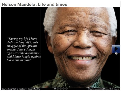 Special: Nelson Mandela life and times infographic | Fledgling yet Burgeoning! Infographics Conquest :D | Scoop.it