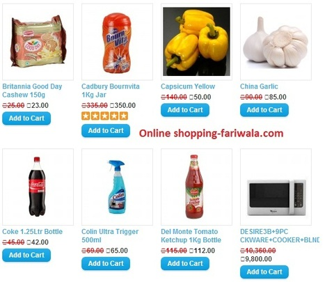 Online Shopping India - Shop Online for fast food , Fresh Fruits, Vegetable, & More at fariwala.com | Online shopping | Scoop.it