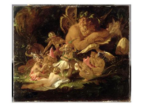 "Puck and Fairies, from ""A Midnight's Summer Dream"" | Marat Midnight dream | Scoop.it"