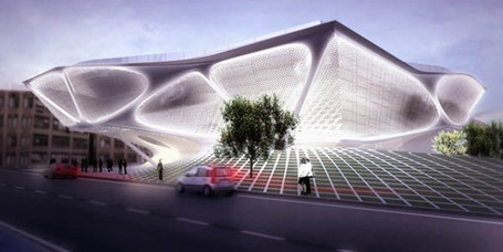 Daegu Gosan Library Proposal / SDA - eVolo | Architecture Magazine | What Surrounds You | Scoop.it