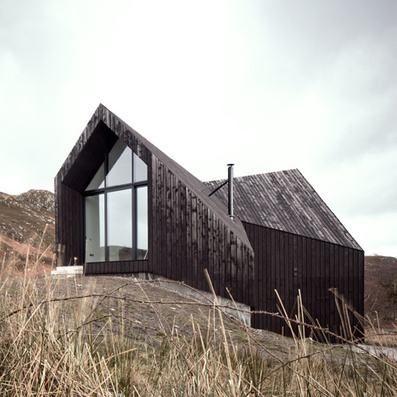 Scottish house by Raw Architecture Workshop has a kinked facade | Architecture and Architectural Jobs | Scoop.it
