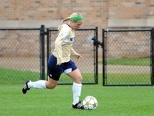 ND Women's Soccer: Freshman Thomas leads front line into tournament | Diverse Eireann- Sports culture and travel | Scoop.it