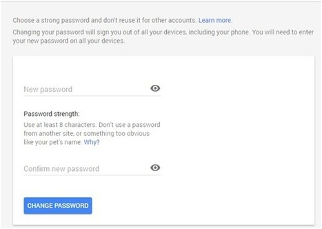 How To Change Gmail Password (With Screenshots) | TechnoGupShup - Technology, Software and Internet | Scoop.it