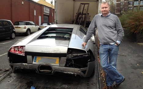 Mechanic who wrote off £220,000 Lamborghini is fined £280 | Strange days indeed... | Scoop.it