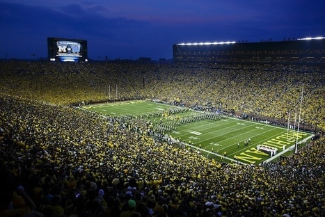 Michigan Stadium sets single-game NCAA attendance record | Sports Facility Management | Scoop.it