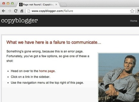 Good: Funny 404 Error Pages.  Great: Profitable 404 Error Pages. | All Things Web Design! | Scoop.it
