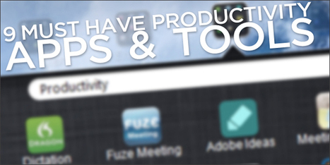 9 Must Have Productivity Apps and Tools; Young Entrepreneurs ... | Productivity tools | Scoop.it