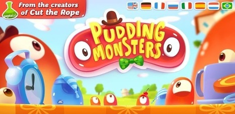 Pudding Monsters - Applications Android sur GooglePlay | Android Apps | Scoop.it