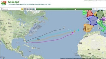 Free Technology for Teachers: Animaps - Create Animated Google Maps | Hamilton West Shared Resources | Scoop.it