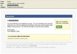 """Facebook Phishing attack from sender """"Raines"""" 