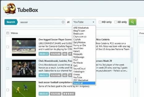 Bajar música y vídeos de Youtube con TubeBox | Las TIC y la Educación | Scoop.it