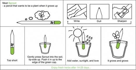 Sprout : le crayon qui pousse | Vous avez dit Innovation ? | Scoop.it