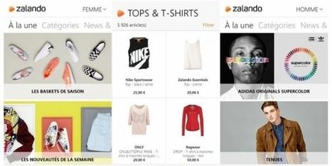 [Étude de cas] Zalando : le parcours client, clé d'un m-commerce efficace | Omni Channel retailing | Scoop.it