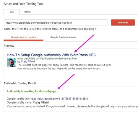 Google Authorship Not Working - How To Test Authorship | interior design | Scoop.it
