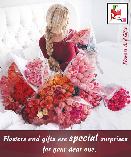 Flowers And Gifts Are Special Surprises For Dear One - BlossomSquare   BlossomSquare   Scoop.it