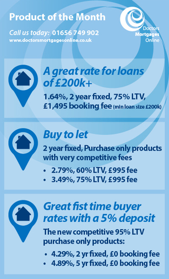Doctors Mortgages Online | Mortgage Product of the Month - October 2015 | Dedicated to addressing the issues doctors face when applying for a mortgage, DMO's new blog! | Scoop.it