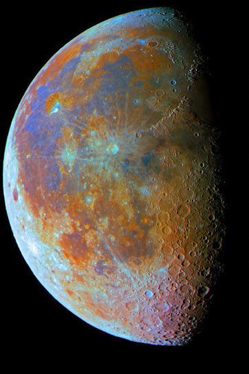 Astronomia per tutti: Un po' di Luna all'ultimo quarto   Polvere di Stelle   Scoop.it