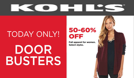 kohls coupon codes 30% off - coupons promo online 2014 | online shopping 2014 | Scoop.it