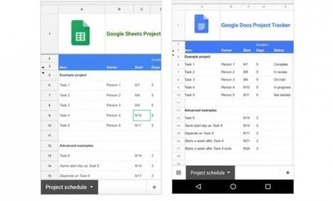 Hojas de cálculo de Google se actualiza en iOS y Android con mejor soporte para imágenes   Aprendiendoaenseñar   Scoop.it