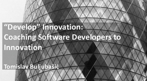 """""""Develop"""" Innovation: Coaching Software Developers to Innovation 