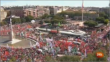 15S Masive protests in Madrid | rEvolution Magazine | Scoop.it