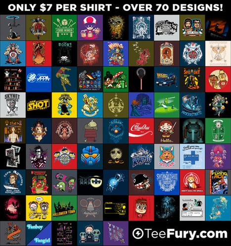 August 2013 Grab Bag t-shirt by Teefury | Awesome-ness | Scoop.it