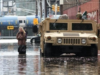 Opinion: Sandy rewrites the election — The Daily Climate | Sustain Our Earth | Scoop.it