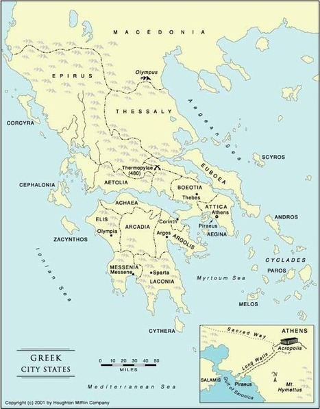 Greek City States - Crystalinks | Gifts of the Ancients | Scoop.it
