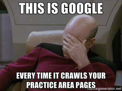 Attorney Local SEO - 3 Tactics for Optimizing those Practice Area Pages! | Digital-News on Scoop.it today | Scoop.it