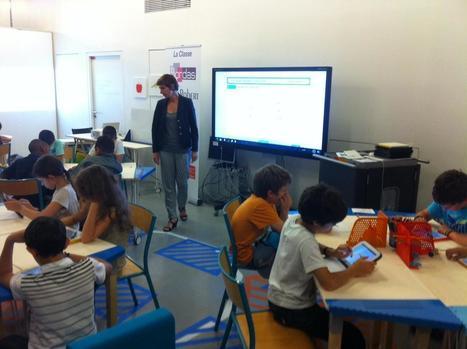 Quand la classe d'école devient connectée. - Semaine Digitale Bordeaux 2014 - Bordeaux Cité Digitale | Écrans et dispositifs écraniques émergents | Scoop.it