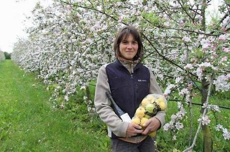 À 25 ans, Marjorie a repris une ferme cidricole dans l'Orne (61)...!!! | Actualités Orne | Scoop.it