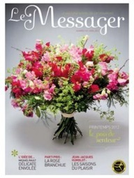 """Le Messager"", magazine BtoB d'Interflora : Veille du Brand Content 