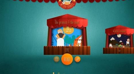 L'app qui transforme vos histoires en théâtre de marionnettes virtuel : My Epic Stories   Lettres Numériques   Liseuses, tablettes et jeux videos   Scoop.it
