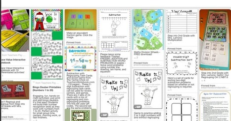 7 Excellent Pinterest Boards for Elementary Math Teachers ~ Educational Technology and Mobile Learning | How to rebuild our Education | Scoop.it