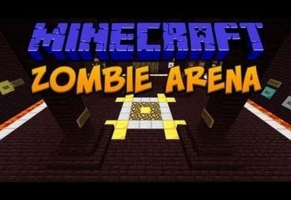 Zombie Arena Map for Minecraft (1.7.10/1.7.9)   panda   Scoop.it