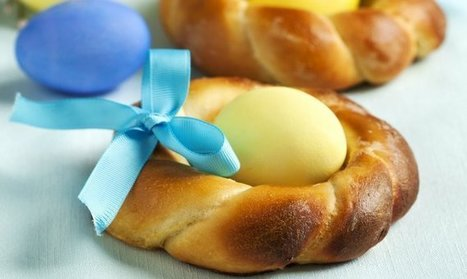 Wow Your Friends and Family with This Beautiful Braided Easter Bread - The Daily Meal | Breads of the World | Scoop.it