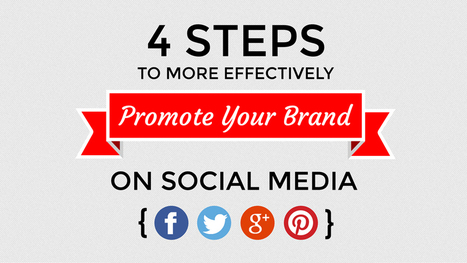 4 Steps to More Effectively Promote Your Brand on Social Media (Infographic) - Massive Catalyst | Fast-Brands | Scoop.it