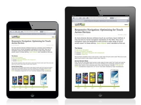 Vexing Viewports | The web is not a desktop | Scoop.it