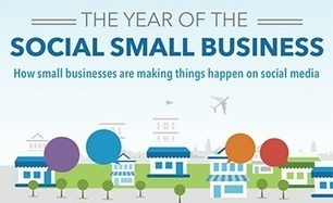 The Year of the Social Small Business [INFOGRAPHIC] | Hybrid PR | Scoop.it