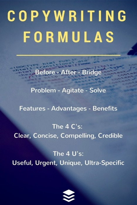 27 Best Copywriting Formulas: How to Tell a Captivating Story Online | Social Media & sociaal-cultureel werk | Scoop.it