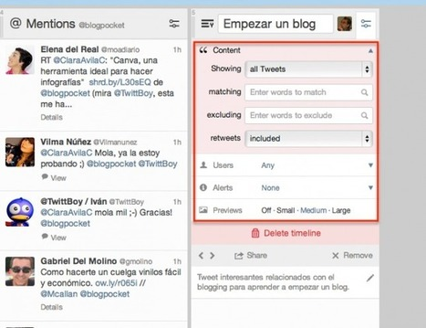 Aprende a crear las nuevas cronologías personalizadas de Twitter | Weblog Magazine | Wallet Digital - Social Media, Business & Technology | Scoop.it