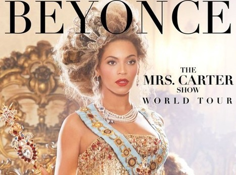 Beyoncé : la reine Bee dévoile une pose impériale pour l'affiche de sa nouvelle tournée ! - Actualité People sur Free.fr | Beyoncé | Scoop.it