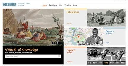 Création de la bibliothèque numérique des Etats-Unis | Thot Cursus | ebook | Scoop.it